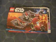 Lego Star Wars 7957 Sith Nightspeeder INSTRUCTIONS ONLY