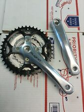 Sugino Impel 150X 170mm 24-34-42 7/8-Speed Crankset Silver Arms