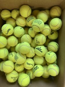 30 Used Tennis Balls - Branded. Very Clean. Mint Condition  Freepost Delivery