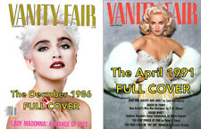 "MADONNA Vanity Fair 16x20"" COVER POSTERS • Dec. 86' & April 91' On Photo Paper"