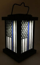 Brotherhood® Light of Hope for law Enforcement - Thin Blue line American Flag