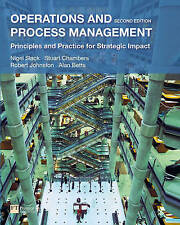 Operations and Process Management: Principles and Practice for-ExLibrary