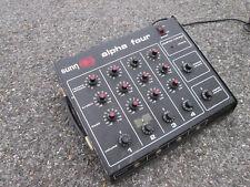 Sunn Alpha Four Vintage 70s Amplifier Guitar Bass Amp PA Reverb 100 W FOR REPAIR