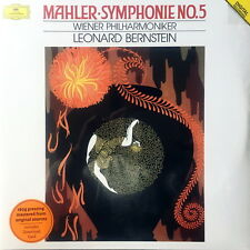 SEALED  180g - LEONARD BERNSTEIN / Mahler Symphony No.5 / DG 479 580-7 2LP