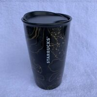 Black and Gold Marble Starbucks Hot 12 oz Tumbler