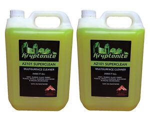 Kryptonite AZ G101 Super Clean Professional Strength Multi Purpose Cleaner -2x5L