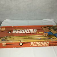 Vintage REBOUND Game IDEAL TWO-CUSHION Original Box 1971
