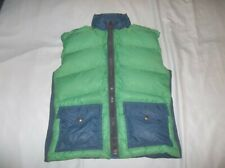 USA MADE !!! REI RipStop Stretch Sierra Nuptse Goose Down Vest Jacket Small READ