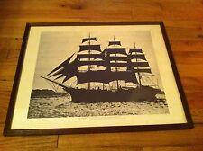 Dar Pomorza Print Tall Ship Polish State Sea School Merchant  Navy Kenneth  Ryan