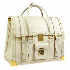 LOUIS VUITTON EXTRA VANGEN TRAVEL BAG IVORY SUHARI LEATHER M91803 WA00394f