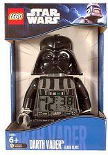 Lego STAR WARS Darth Vader Minifigure Alarm Clock Xmas Christmas Gift Present
