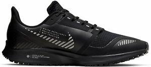 Nike Air Zoom Pegasus 36 Shield (AQ8005 001) All Black Sneakers Mens NEU OVP
