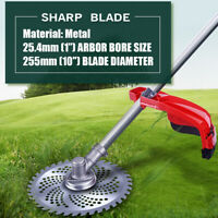 40 Tooth Garden Lawn Mower Blade Manganese Steel Grass Trimmer Brush Cutter Head
