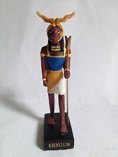 KHNOUM Figura Dios Antiguo Egipto 10-15 cms Resina pintado a mano
