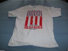 New listing World Famous Gold & Silver Pawn Shop Us Flag-style T-Shirt Size L