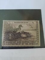 DUCK Stamps US #RW6 Mint NH F VF Single 1940 Professionally Graded DUCK HUNTING
