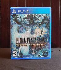 Final Fantasy Xv Royal Edition (PlayStation 4, 2018) Ps4