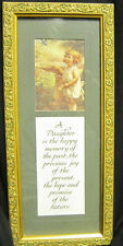 Gift Collections Gallery Framed Daughter Past Present Future Saying Poem