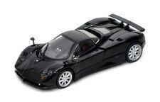 PAGANI ZONDA F 1:24 Scale Metal Diecast Car Model Die Cast Models Black