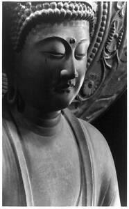 Photo,Buddhas,Amida Nyorai,Amitabha,Kondo,Ikarugacho,Naraken,Japan,c1950 5125