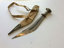 Nice Old Antique Vintage Large African Ethiopian Gile Sword Of The Afar Tribe