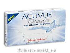 Acuvue OASYS Hydraclear PLUS 1�—6  BC 8.8  Non-Stop-Linsen 2-Wochenlinsen !