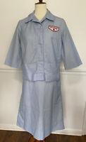 Vintage Robbin Dale American Red Cross Volunteer Uniform Costume Halloween M/L