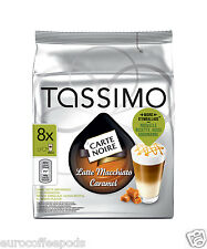 Tassimo Carte Noire Latte Macchiato Caramel Coffee 16 T Disc 8 Drinks