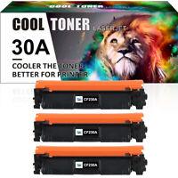 3PK 30A CF230A Toner Cartridge for HP LaserJet Pro M203dn M203dw M227fdw M227fdn