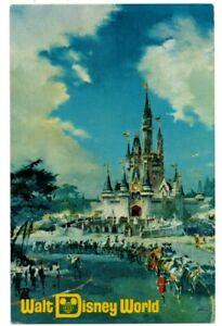 FL Florida Orlando Walt Disney World Amusement Park Magic Kingdom 1971 Postcard