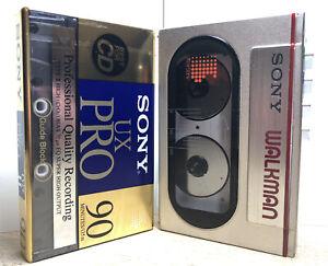Vintage Sony WM-10 Walkman, Refurbished And Fully Functional.