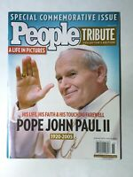 PEOPLE MAGAZINE POPE JOHN PAUL II Tribute Collector's Issue 2005 Free Shipping!