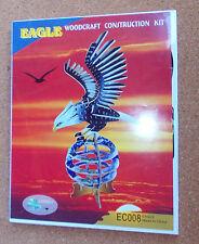 EAGLE   Woodcraft Construction Kit Wood Model FREE POST
