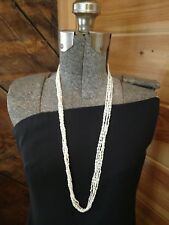 vintage fresh water Pearl necklace 5 strand