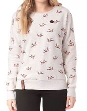 NEU, Naketano, Sweatshirt, Pulli, Damen, Gr. S, Speak The Truth, oma melange