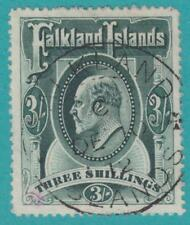 FALKLAND ISLANDS 23 SON CANCEL PINK EXPERTS MARK  NO FAULTS VERY FINE !
