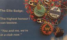 Disney's Up Grape Soda Cap Pin Ellie Badge, Wilderness Explorer & Adventure Pins