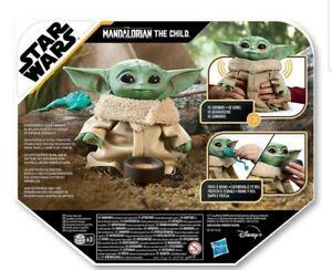 Baby Yoda The Mandalorian Child Talking Plush Toy By Hasbro