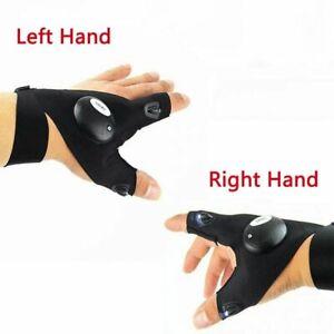 1Pair LED Light Finger Lighting Gloves Auto Repair Outdoors Flashing Artifact /