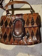 Vintage Coblentz Exotic Skin Handbag 1940-60S