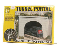 HO Woodland Scenics Double Tunnel Portal C1256