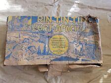 Vintage Marx Rin Tin Tin Fort Apache Playset Box