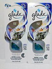 Glade NEW CAR Scent Vent Oil Clip 2 PK Car AC Air Freshener Eliminate Odors