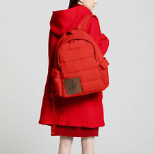 JW Anderson x Uniqlo Bright Red Padded Backpack Rucksack Bag Large Unisex BNWT