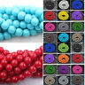 50 Pcs Czech Glass Round Loose Spacer Beads Charm Finding Craft 4/6/8/10MM DIY