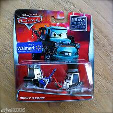 Disney PIXAR Cars TOON ROCKY & EDDIE Tall Tales guitar HEAVY METAL MATER diecast