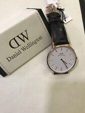 "OROLOGIO DANIEL WELLINGTON REF DW00100011 40 MM BIANCO -NUOVO ""CLASSIC YORK"""