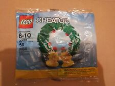 Lego Creator Christmas Wreath #30028 from 2011 NEW SEALED 50 pieces hard to find