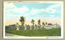 VINTAGE POSTCARD KENDALL TOURIST CAMP WEST OF SILVER CREEK NY1920-30s US 20 VIEW