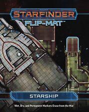 2017 Paizo Starfinder Roleplaying Game: Starfinder Starship Flip Mat